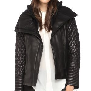 Soia & Kyo Demy Quilted Leather Jacket